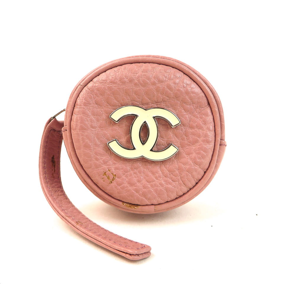 Chanel CC Leather Jewelry Case Shop at re-fashion.co