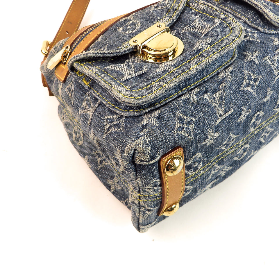 Louis Vuitton Monogram Denim Baggy PM Shop at re-fashion.co