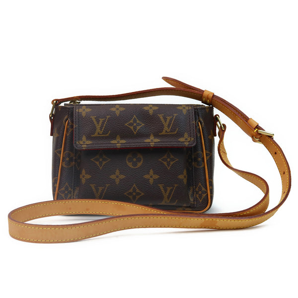 Louis Vuitton Monogram Viva Cite PM Shoulder Bag FRONT