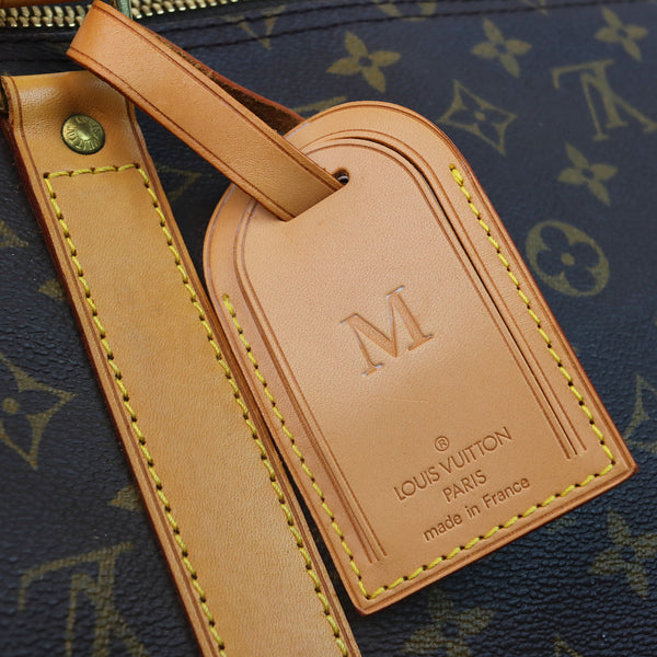 Louis Vuitton Monogram Keepall 50 Duffle Bag TAG