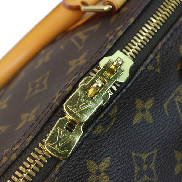 Louis Vuitton Monogram Keepall 50 Duffle Bag ZIPPER
