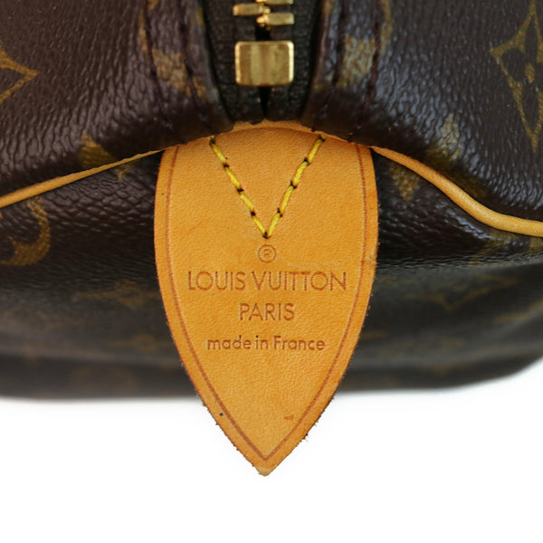 Louis Vuitton Monogram Keepall 50 Duffle Bag SIDE TAG