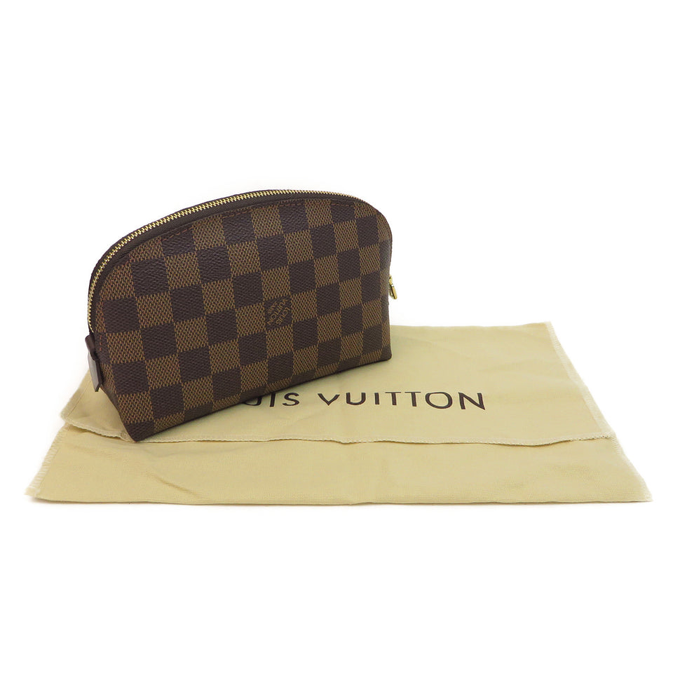 Louis Vuitton Damier Ebene Cosmetic Pouch W DUST BAG