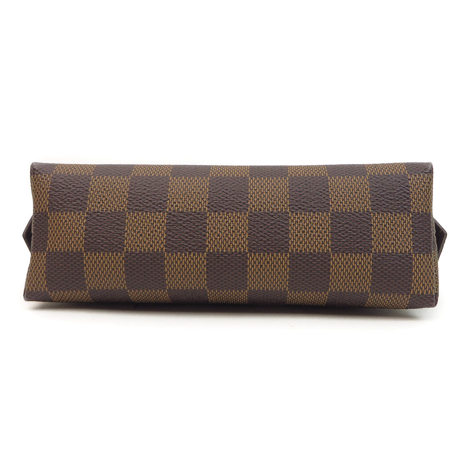 Louis Vuitton Damier Ebene Cosmetic Pouch BOTTOM