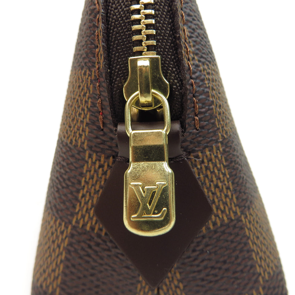Louis Vuitton Damier Ebene Cosmetic Pouch ZIPPER ZOOM