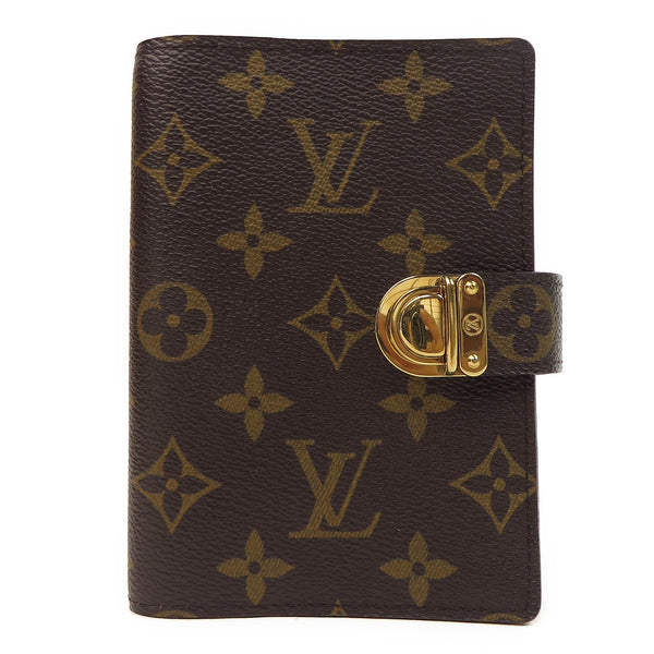 Louis Vuitton Monogram Koala Small Ring Agenda Orange FRONT