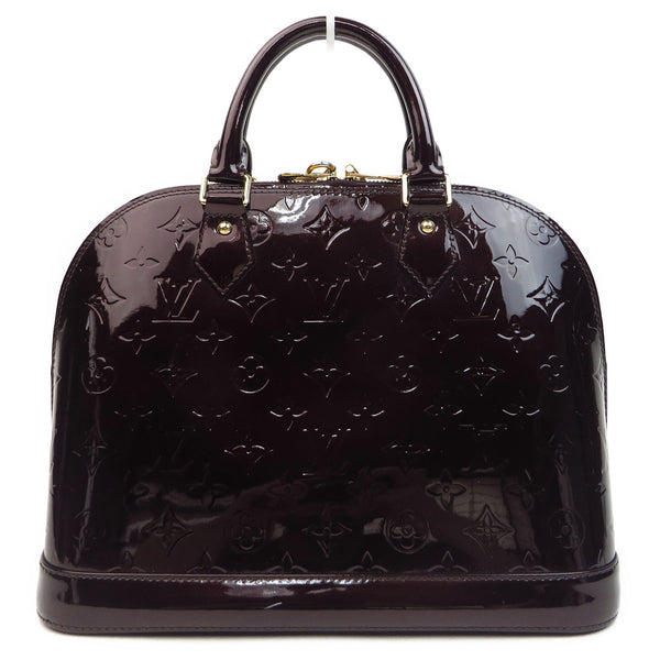 Louis Vuitton Vernis Alma PM Amarante back