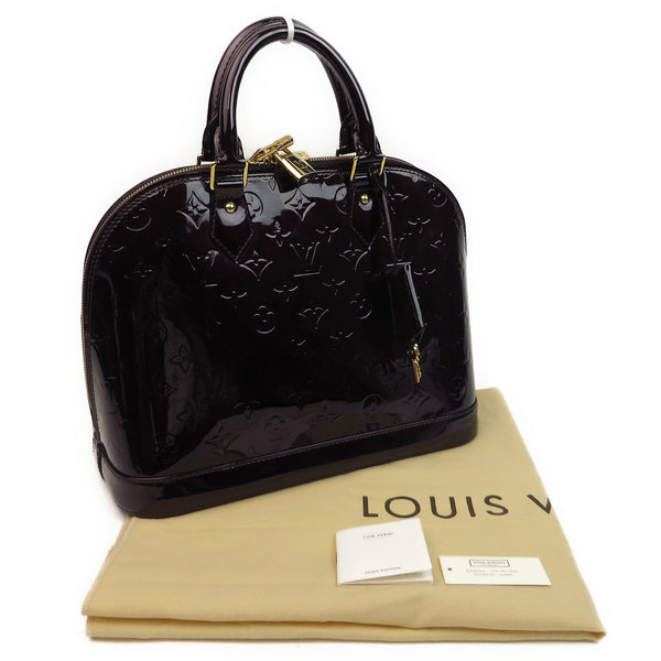 Louis Vuitton Vernis Alma PM Amarante w dust bag