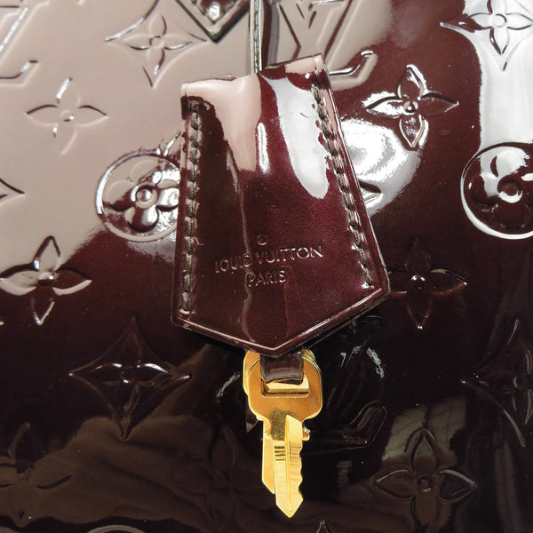 Louis Vuitton Vernis Alma PM Amarante key for padlock