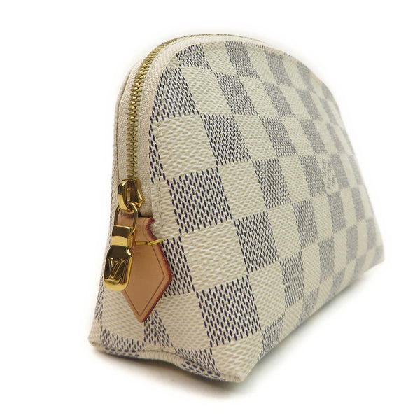 Louis Vuitton Damier Azur Cosmetic Pouch side