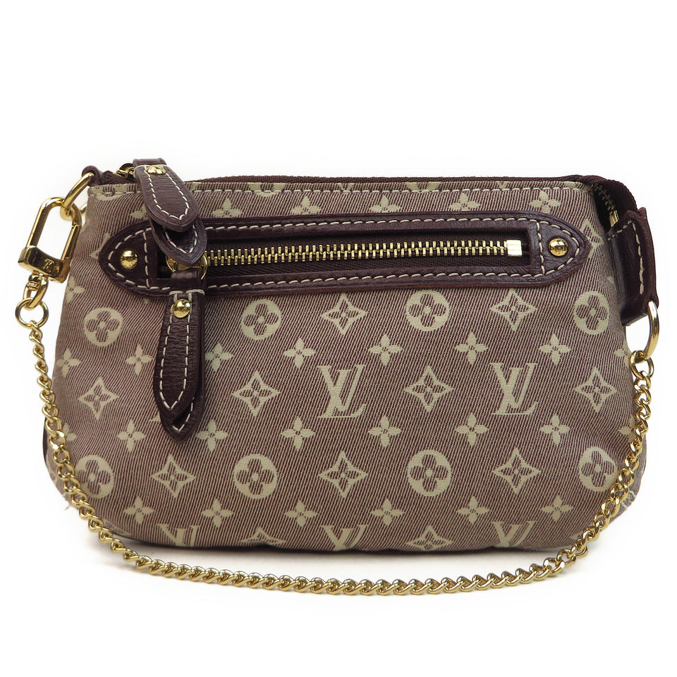 Louis Vuitton Monogram Idylle Mini Pochette Accessories front
