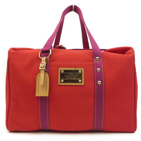 Shop Louis Vuitton Antiqua Sac We Rouge Duffle at Luxury Mart Australia Sydney. front