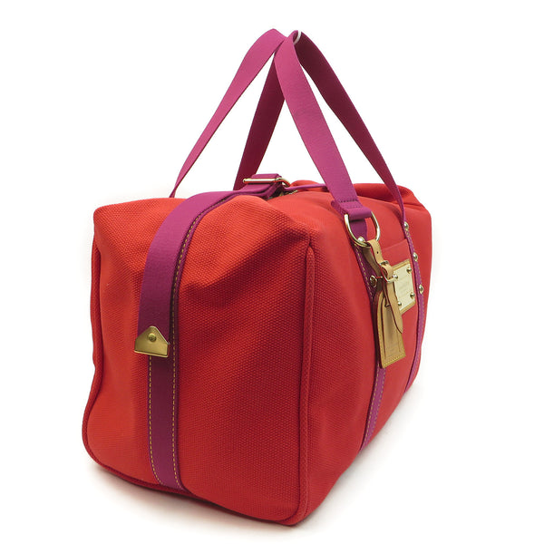 Shop Louis Vuitton Antiqua Sac We Rouge Duffle at Luxury Mart Australia Sydney. side