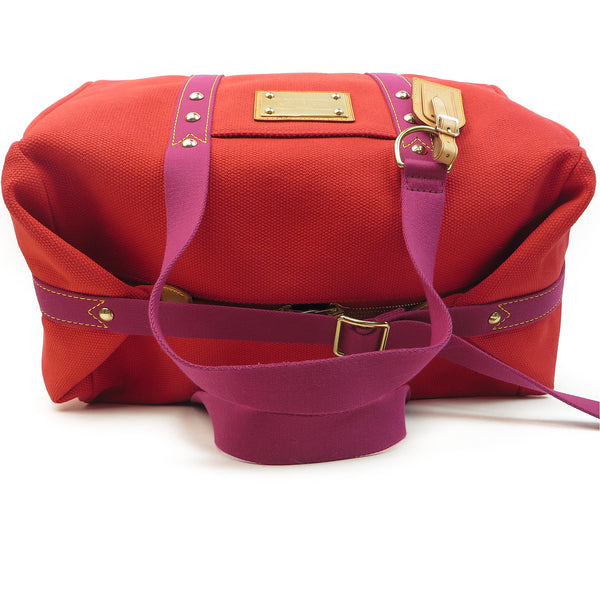 Shop Louis Vuitton Antiqua Sac We Rouge Duffle at Luxury Mart Australia Sydney. handle