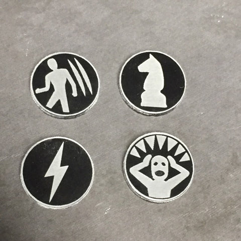 KDM Survival Tokens (4 sets of 4)