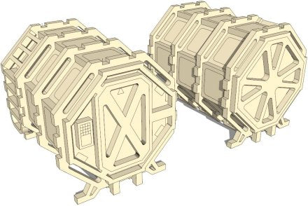 Sci-Fi Containers (Octagon)
