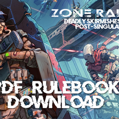 Zone Raiders - Core Rule Book PDF