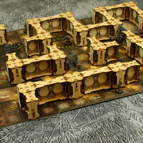 Most of a Full Table Set of Sector Magneticus walls, $160