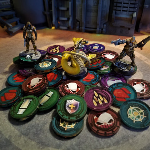 Zone Raiders Tokens