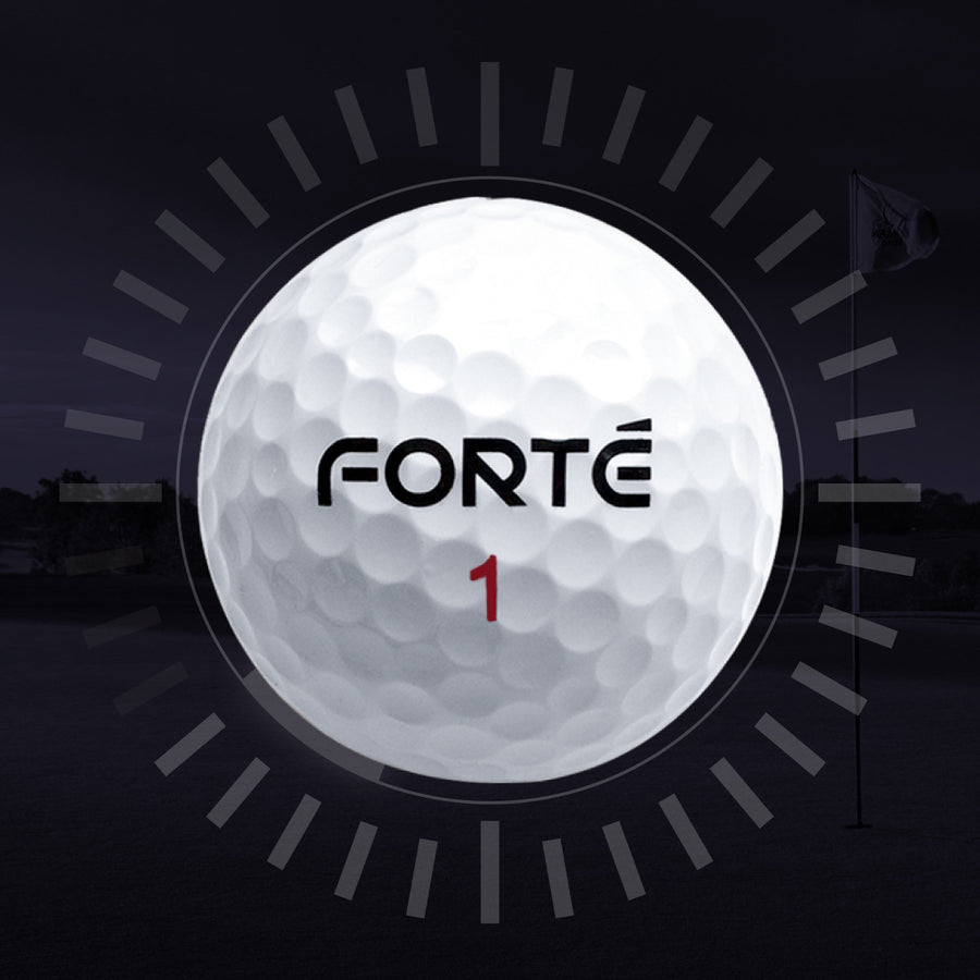 FORTE 6 - 6-Piece Golf Ball - FORTÉ Golf Australia