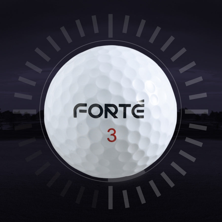 Forte Tour Performance S Golf Balls - 2 Dozens
