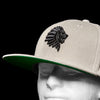 WATB Raised 3D Embroidered Snapback (Grey)