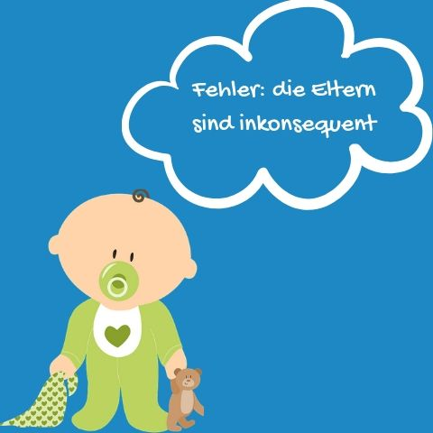 Illustration Baby Fehler inkonsequent