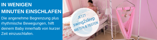 Federwiege swing2sleep mieten