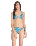 Clovia String Bra Brief Set - Blue, , Bra and Panty Set Clovia Thailand