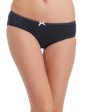Cotton High Waist Hipster - Blue, , Panty Clovia Thailand