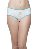 Clovia Cotton Cheeky Friday Hipster - White, , Panty Clovia Thailand