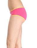 Clovia Cotton Cheeky Friday Hipster - White, XL / White, Panty Clovia Thailand