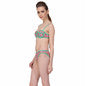 2 Piece Polyamide SwimSuit of Balconette Bra & V-Shaped Bikini In Light Green, S / Green, Bikini Clovia Thailand