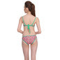 2 Piece Polyamide SwimSuit of Balconette Bra & V-Shaped Bikini In Light Green, XL / Green, Bikini Clovia Thailand