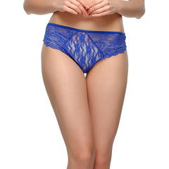 Lacy Hipster In Royal Blue