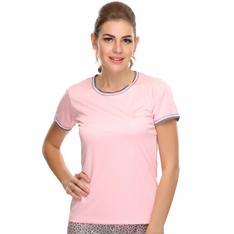 LIGHT WEIGHT STRETCHY DRI-FIT SPORTS T-SHIRT, , Sleepwear Clovia Thailand