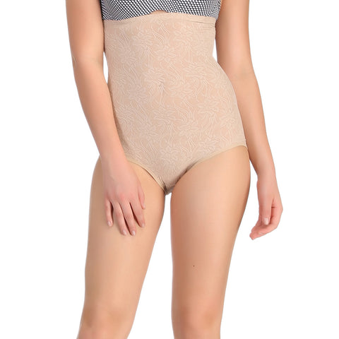 Tummy Control High Waist Brief In Skin, , ShapeWear Clovia Thailand