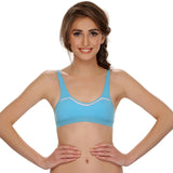 Cotton Blended Comfy Teenage Bra, , Bra Clovia Thailand