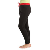 Cotton Full Length Yoga Pants - Black, S / Black, Lounge Bottom Clovia Thailand