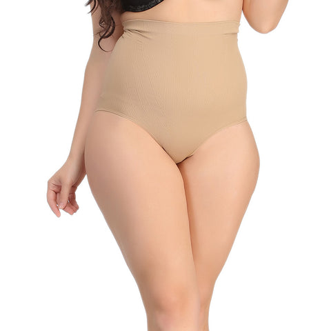 Tummy Tucker Brief In Skin With Seamless Finish, , ShapeWear Clovia Thailand