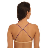 Detachable Double String Straps With Square Crystal Stone Pendent, , Bra accessories Clovia Thailand
