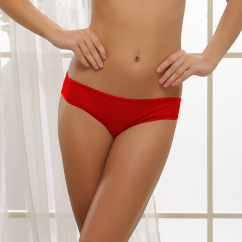 Fashion Bikinii Panty With Sexy Back In Red