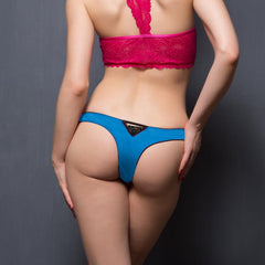 Fashionable Panty In Sky Blue, L / Multicolor, Panty Clovia Thailand