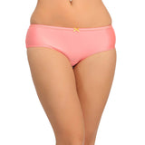Mid Waist Hipster With Trimmed Elastic - Orange, , Panty Clovia Thailand