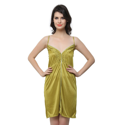Sexy Nightdress In Green, , sleepwear Clovia Thailand