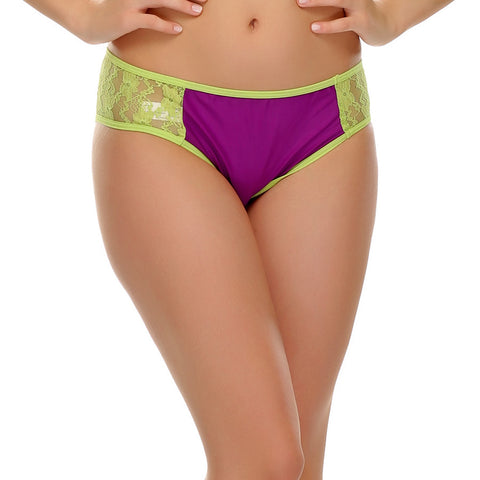 Lace Hipster In Purple, , Panty Clovia Thailand
