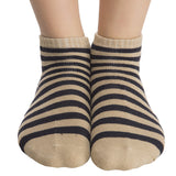 Short Ankle Socks In Beige