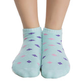 Short Ankle Socks In Sea Green, , Socks Clovia Thailand