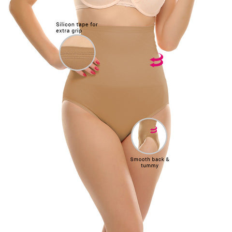Tummy Tucker With Silicon Grips, , ShapeWear Clovia Thailand
