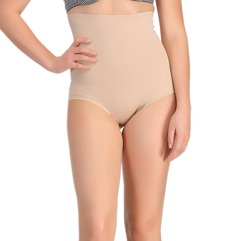Seamless Tummy Tucker In Skin With Stitch Free Belt, , ShapeWear Clovia Thailand